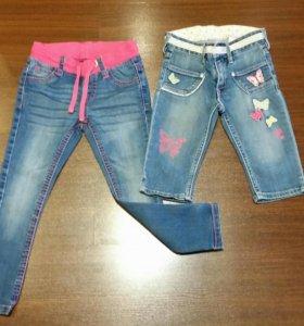 Джинсовые вещи на девочку 4-5 лет