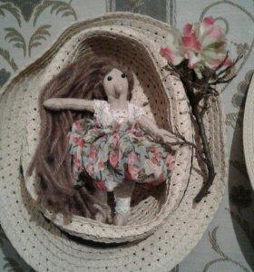 Интерьерная кукла. Ручной работы