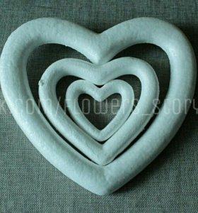 Сердце пенопласт