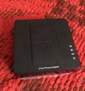 Телефонный адаптер Cisco SPA112