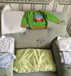 Джемпер, подушка пеленки