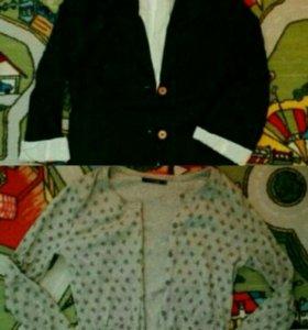 Пиджак и кофта
