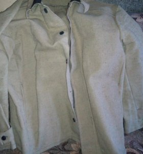 Куртка брезентовая