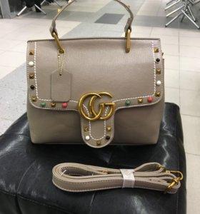 Новая сумка Gucci натуральная кожа