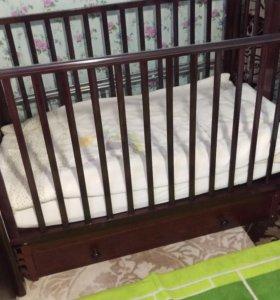 Детская кроватка-маятник Gandylyan Даниэль