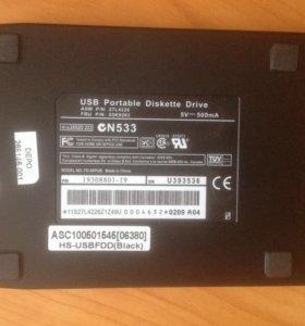 """Флоппи 3,5"""" дисковод USB"""