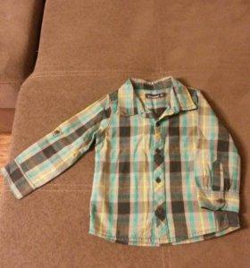 Рубашка для мальчика, рост 86