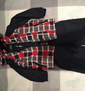 Зимняя куртка и полукомбинезон+ полукомбинезон