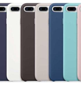 Оригинальные Silicone Case for iPhone 7plus