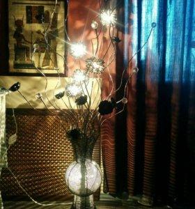 Напольный светильник ваза