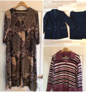 Платье, юбка, кофта на 56-58