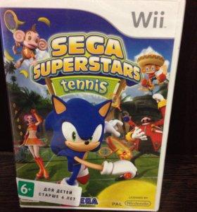 SEGA Super Stars ✨Tennis Wii