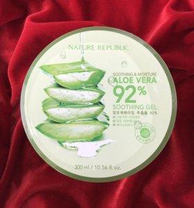 Увлажняющий гель Nature Republic⭐️Aloe Vera 92%