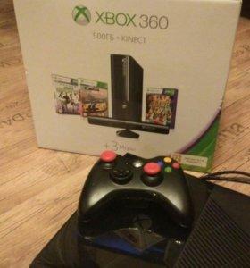 Xbox 360 500gb+kinect