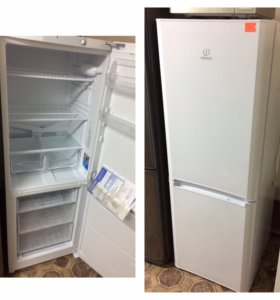 Немного б у холодильник indesit