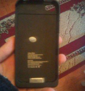 Чехол зарядка на iPhone 4S/4