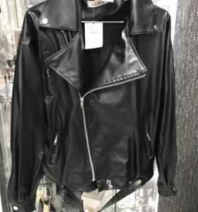 Кожанка куртка кожзам