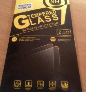 Защитное стекло на Iphone6+ и на sony-xperia