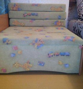 Детский диван(раскладной)