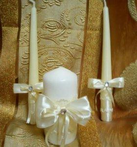 Свадебный семейный очаг цвет айвори