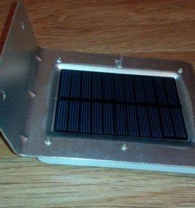 Уличное освещение на солнечной батарее