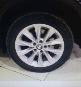 Диски литые бу оригинал. BMW x3 x1 4шт R18 5x120