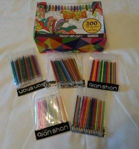 Гелевые ручки 100 штук