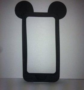 Силиконовый бампер для iPhone 4