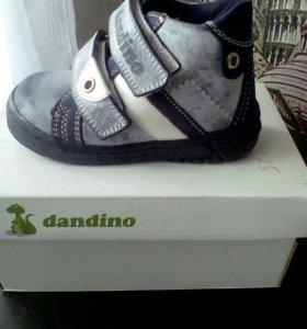 Новые ботинки дандино 21 р зима
