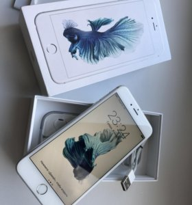 Apple iPhone 6s Plus, Silver, 16gb