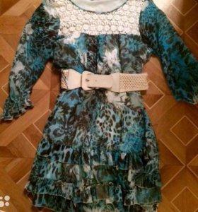 Продам шифоновое платье