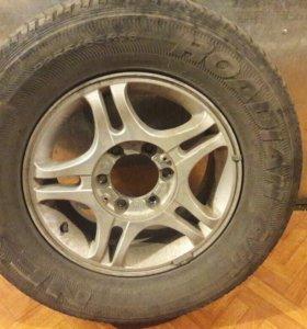 Комплект колёс + диски