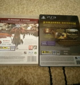 Dragon Age2 и Got of War восхождение