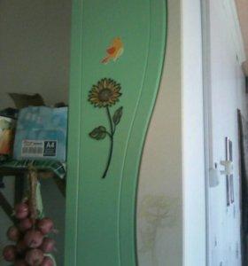 Холодильник,кухня,гардероб