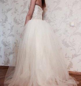 Новое свадебное платье !