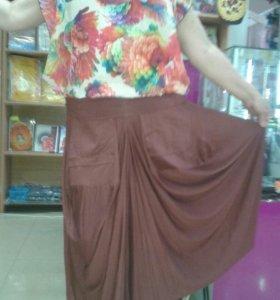 Комплект юбка и блузуа