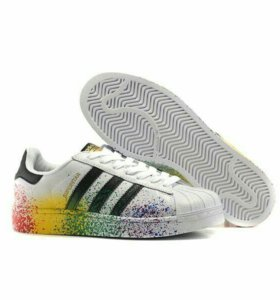 Кроссовки Adidas Superstar pride pack