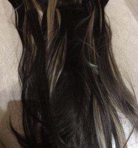 Продам волосы на заколках