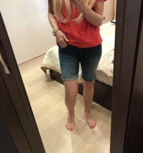 Джинсовые шорты женские pull &bear