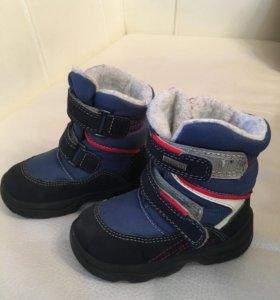 Зимние ботинки скандиа