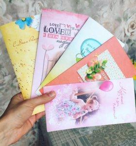 Яркие открытки с фото на заказ
