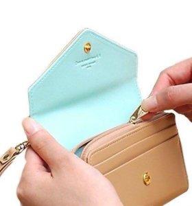 Новый кошелек на ремешке, торг