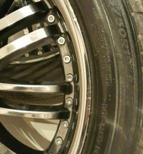 Диски с резиной R19 TG racing
