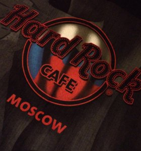 Футболка Hard Rock Cafe Moscow Small (S)