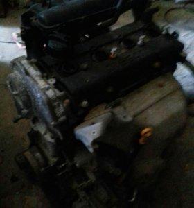 Двигатель ниссан серена+вариатор