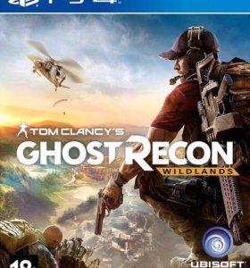 Игра ghost recon на PS4
