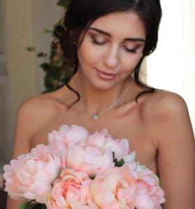 Свадебный стилист/ визажист/ свадебный макияж/ при