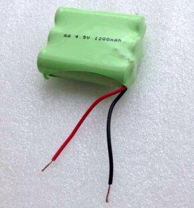 Аккумулятор встраиваемый 4.5В 1.2А Ni-Cd