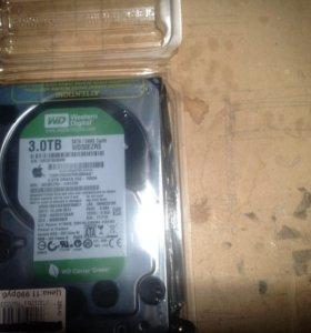 HDD WD30EZRS-3.0TB/SATA/64MB жесткий диск 3Тб