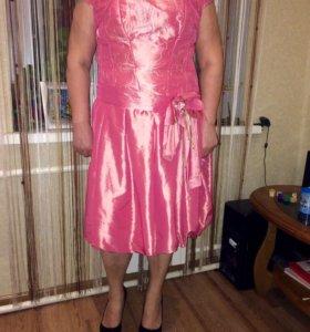 Платье с корсетом на молнии